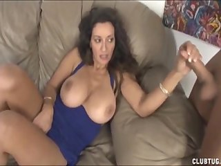 Dominate milf handjob coupled with pussy ill feeling