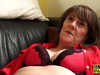 Clit eaten away uk granny masturbating
