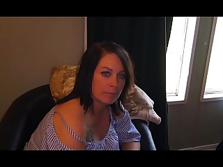Old woman gets sultry for her Son POV Part 1