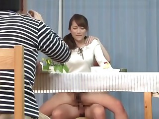 6 - Japanese Milf Under Make an issue of Desk Game - LinkFull In My Frofile
